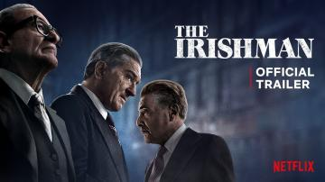Cartaz do filme The Irishman (O Irlandês), do Netflix