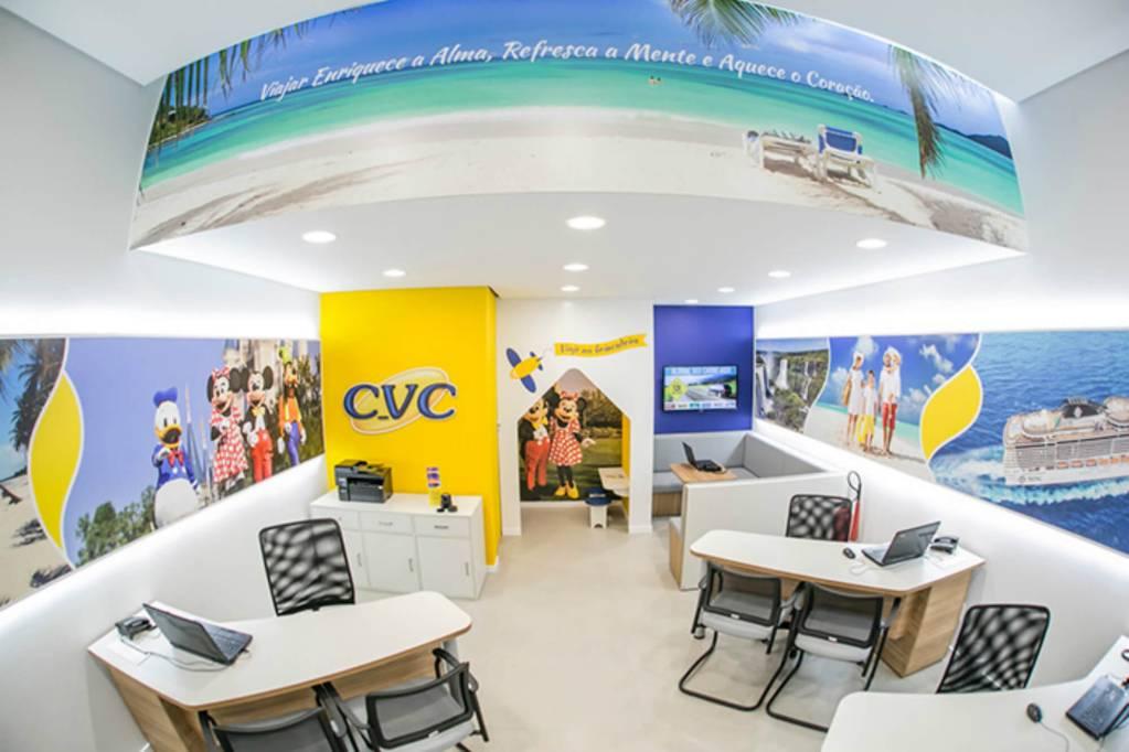 Loja franqua da CVC