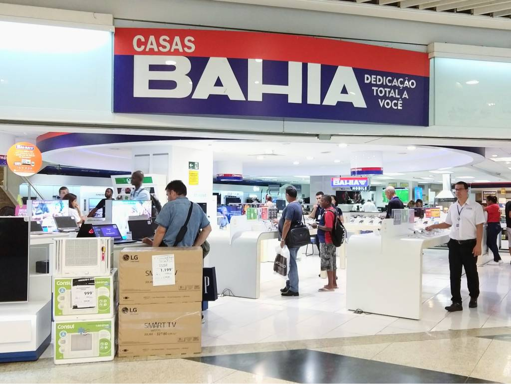 loja casas bahia shopping via varejo