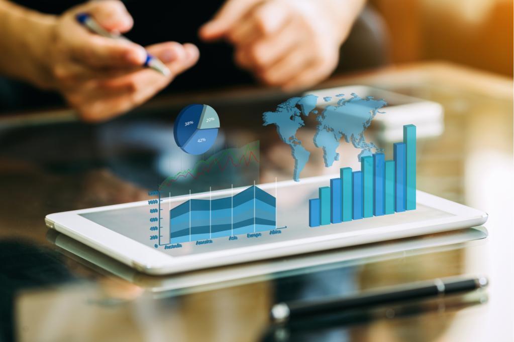 fundos de investimento análise gráficos índices