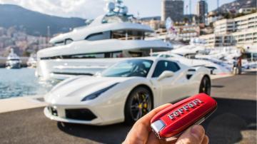 Ferrari 458 chave iate monaco