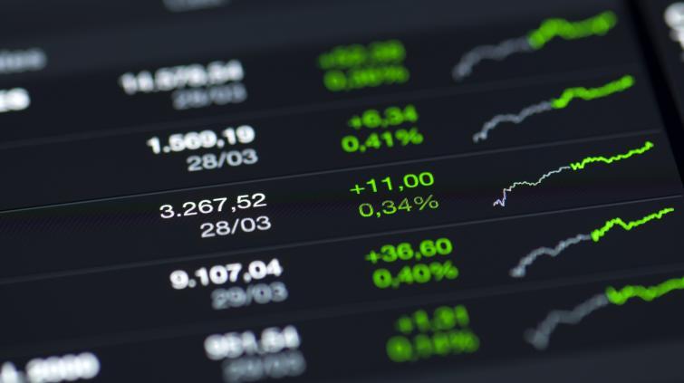 ações alta bolsa mercado índices gráfico stocks