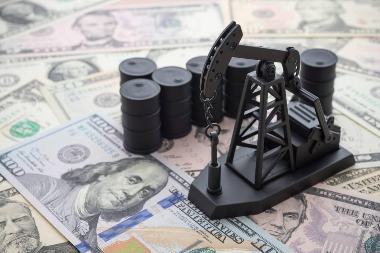 petróleo dólar dólares
