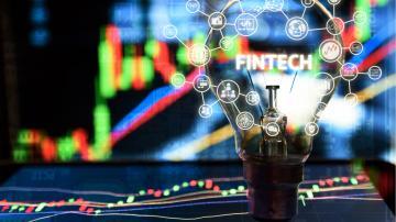 fintechs ações índices gráficos