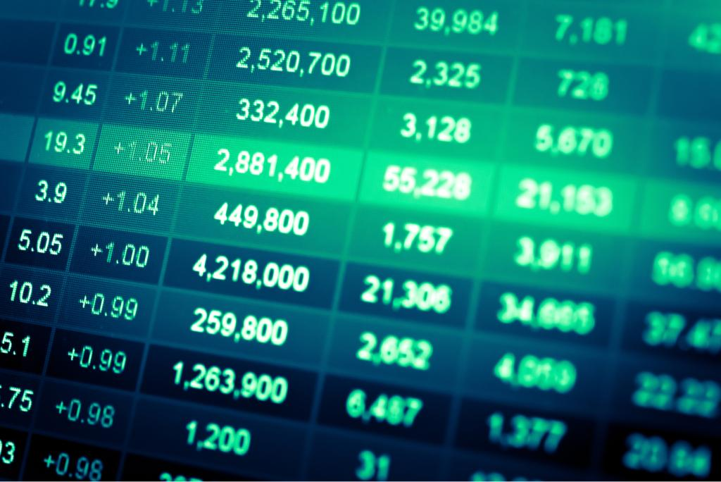 ações bolsa gráfico índices mercado compra venda sell buy