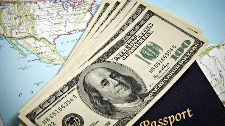 Dólar viagem