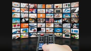 streaming vídeo tv controle remoto