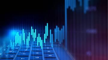 ações bolsa gráfico índices mercado trader alta
