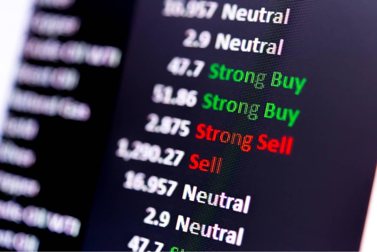 ações bolsa gráfico índice mercado opções compra venda sell buy