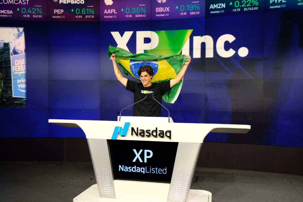 Guilherme Benchimol, durante IPO XP Inc