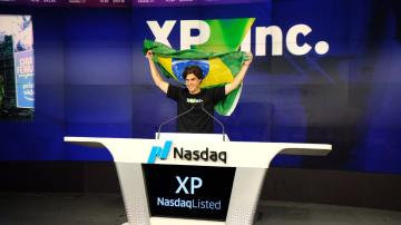 Guilherme Benchimol, durante IPO XP Inc