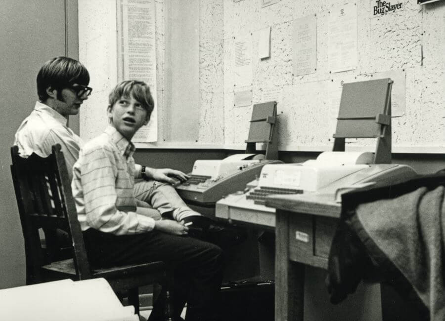 Paul Allan e Bill Gates