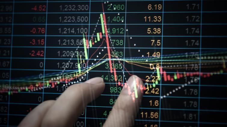 mercado bolsa índices alta ações gráfico analista trader