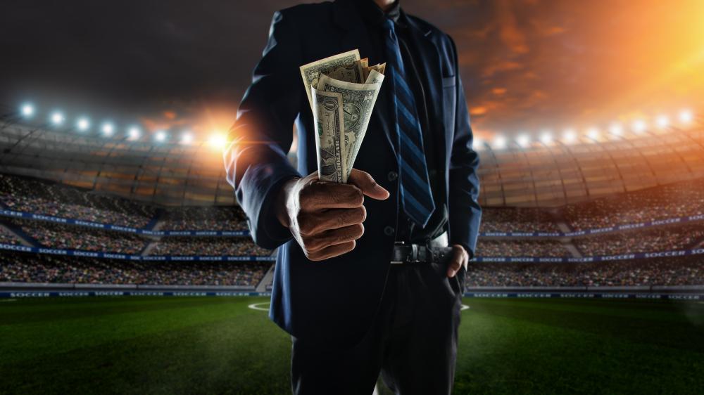 Dinheiro no futebol