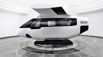 """eVTOL: protótipo de """"carro voador"""" desenvolvido em parceria com o Uber"""
