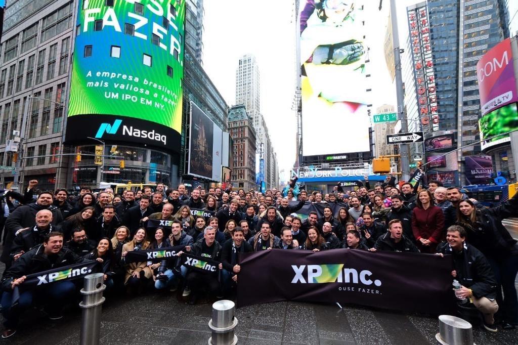 IPO da XP na Nasdaq