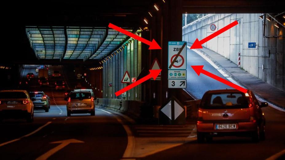 Placas para veículos elétricos na Espanha