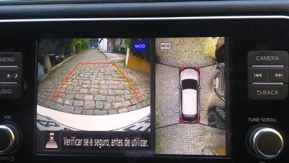 Cãmeras de estacionamento do Nissan Leaf