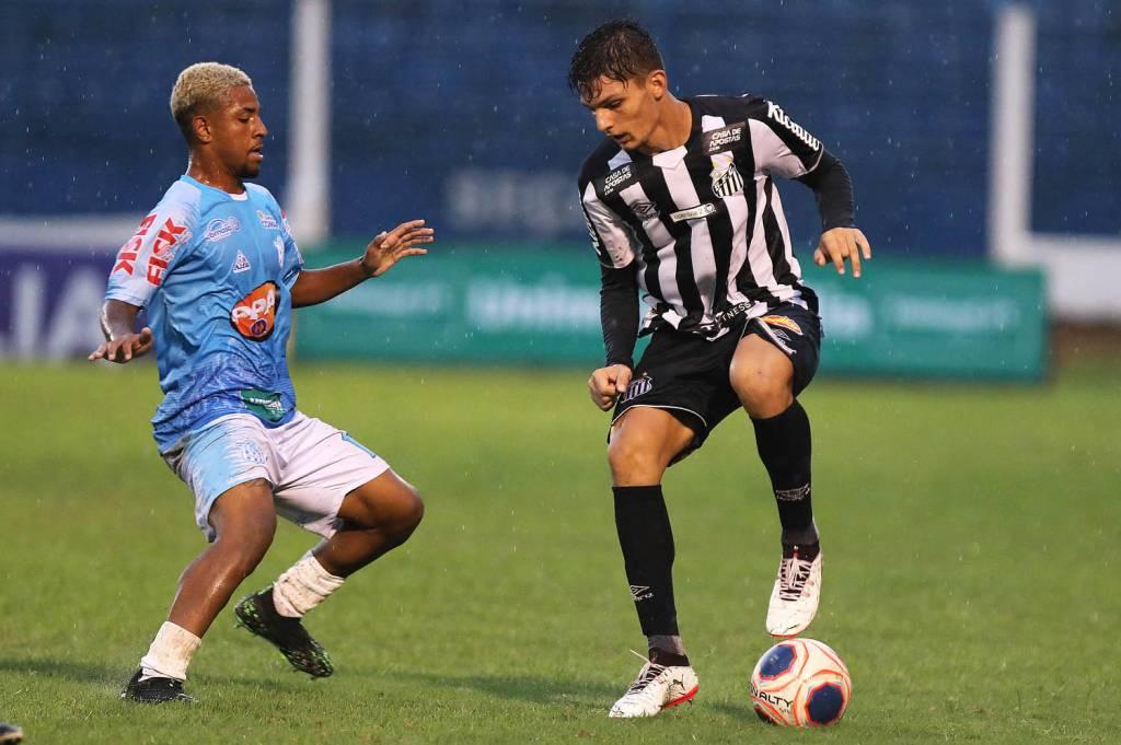Santos e Marília na Copa São Paulo