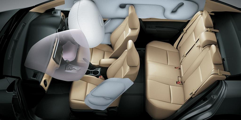 airbags Toyota Corolla Altis