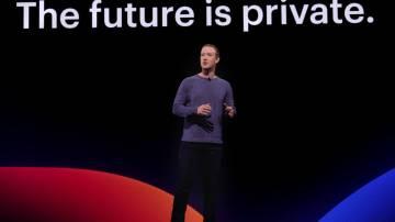 Mark Zuckerberg na F8 2019