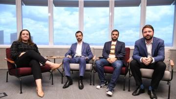 Onde Investir 2020 - Giuliana Napolitano, Silvio Cascione, Rafael Cortez e Richard Back