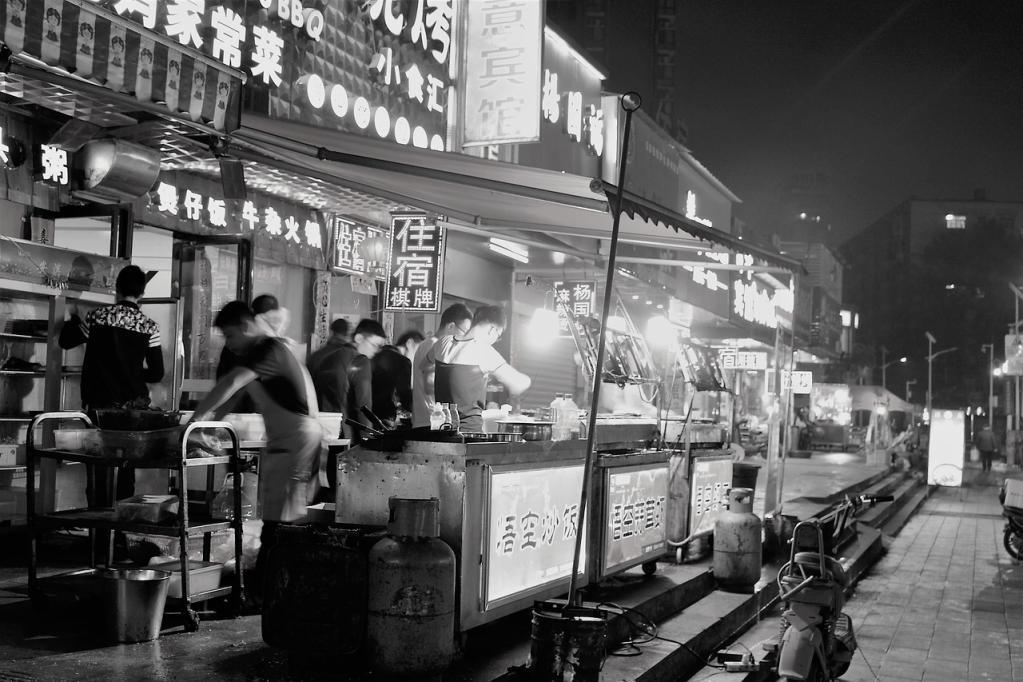 Mercado em Wuhan