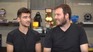 Breno Perrucho e Thiago Nigro, em vídeo do Primo Rico