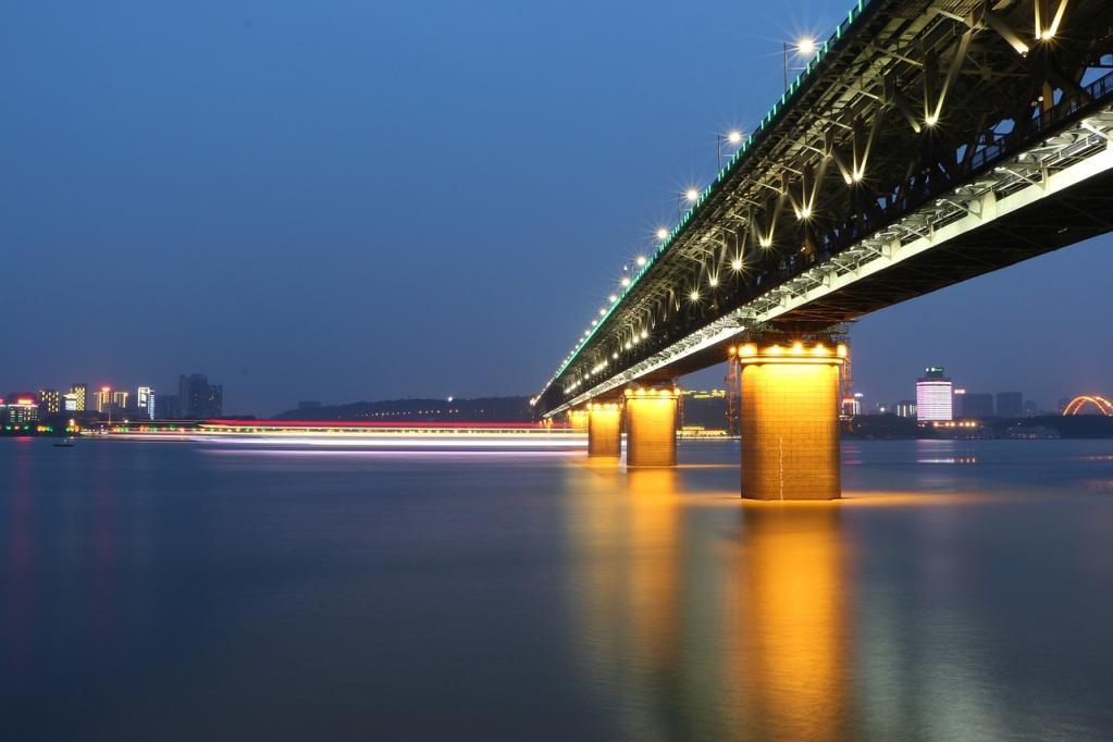 Ponte em Wuhan
