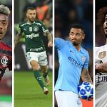 Flamengo, Palmeiras, Manchester City e Real Madrid
