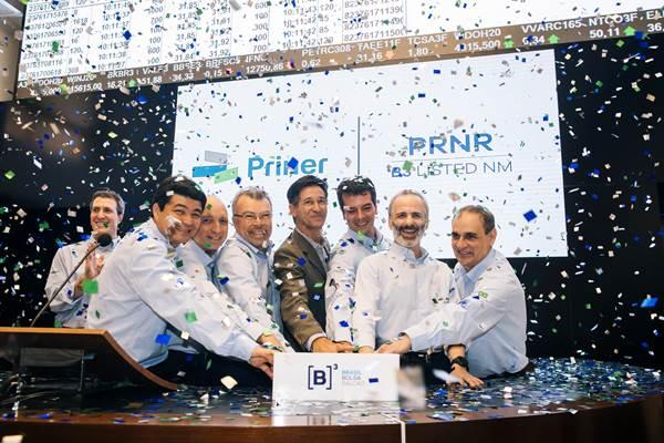 Priner IPO (Foto/ Divulgação B3)