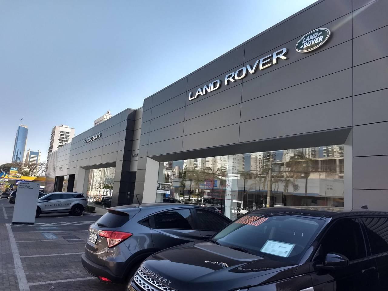 concessionária jaguar land rover