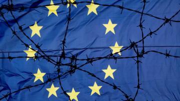 união europeia fronteiras europa arame farpado imigração