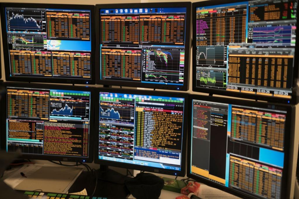 bolsa mercados trader operador brooker bolsa ações índices telas