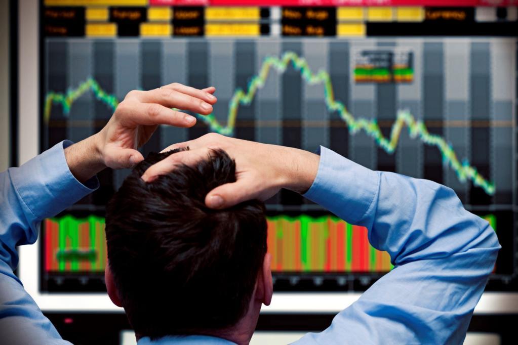 trader operador brooker bolsa ações mercados crash baixa down circuit breaker