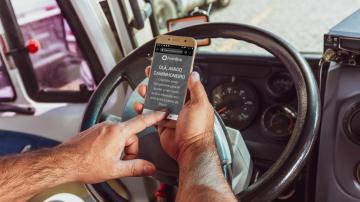 setor logístico: aplicativo caminhoneiros