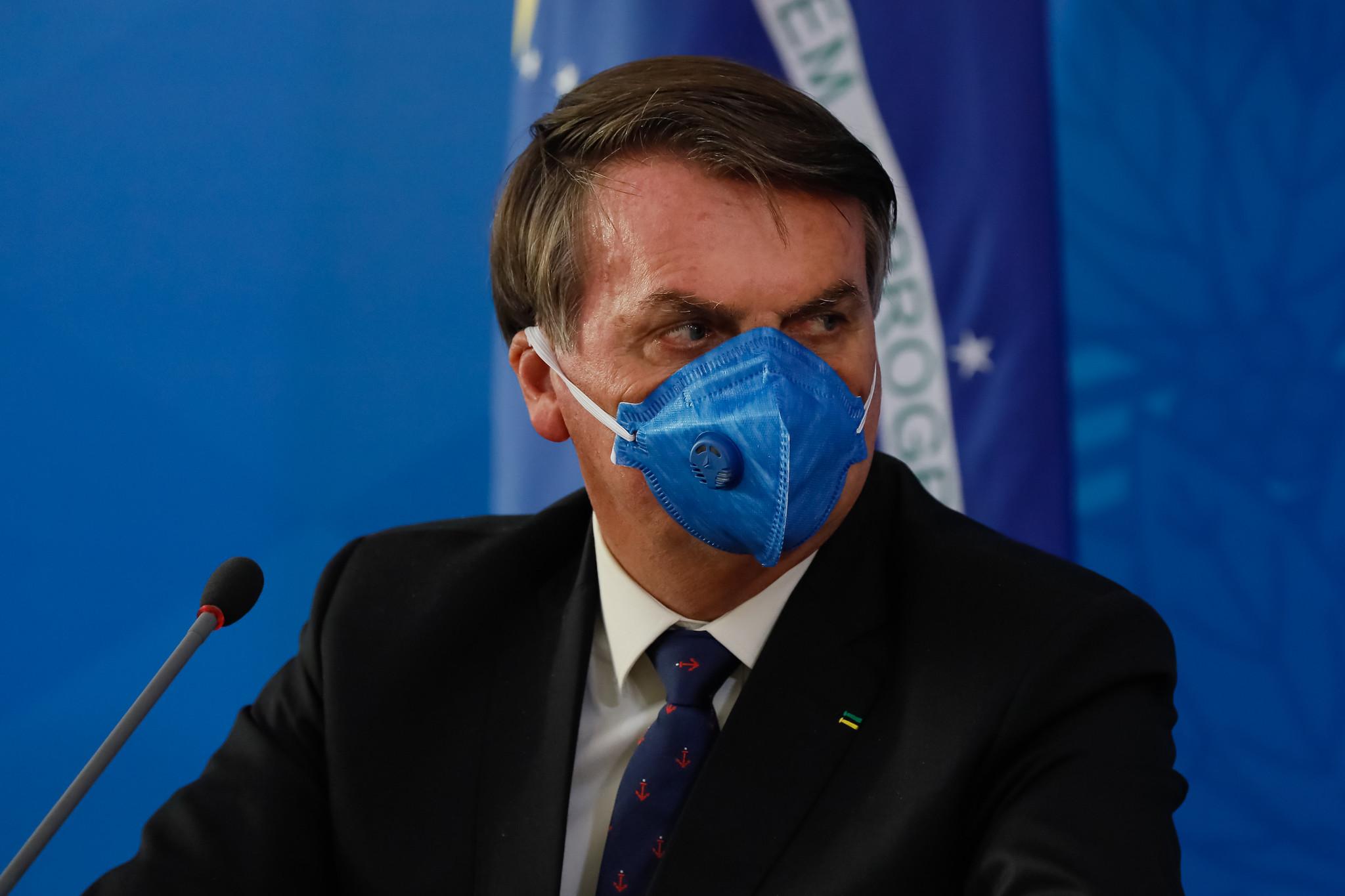 Justiça Federal obriga Bolsonaro a usar máscara em espaços públicos no DF thumbnail