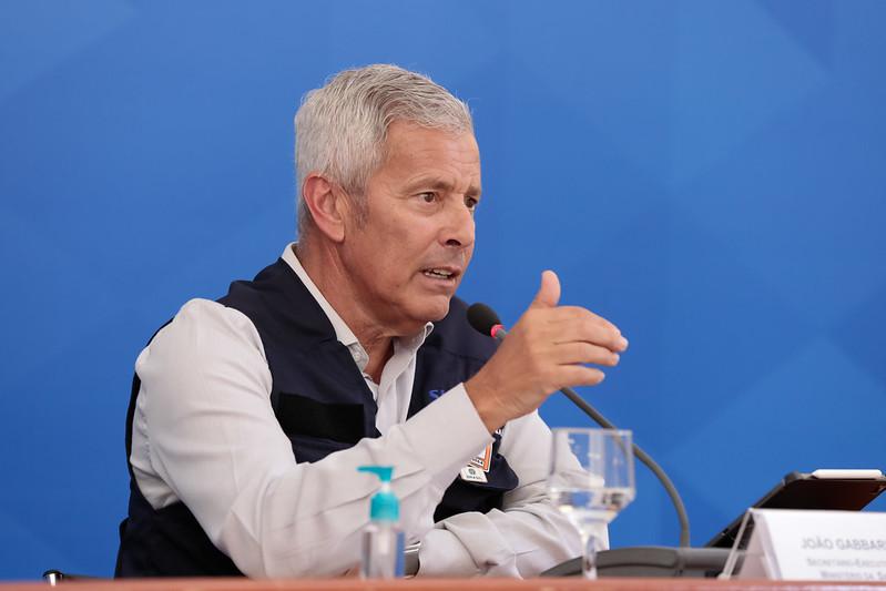 O secretário-executivo do Ministério da Saúde, João Gabbardo