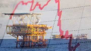 petróleo plataforma índices preços queda baixa óleo
