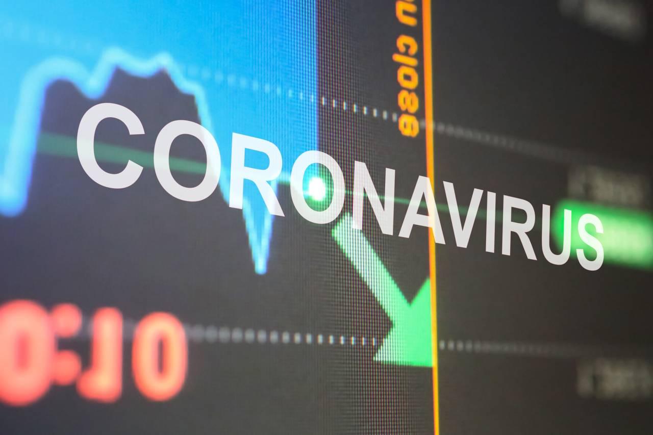 Stock market fall with Coronavirus outbreak