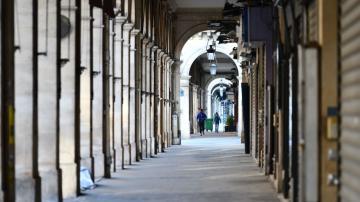 Lojas fechadas em Paris