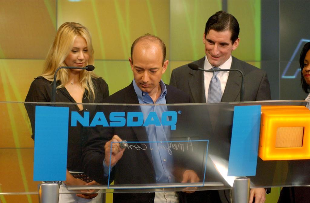 Jeff Bezos, Anna Kournikova, Bob Greifeld