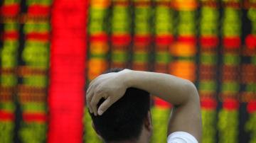 Shanghai Composite Index stocks mercado ações índices bolsa baixa queda