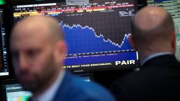 New York Stock Exchange (NYSE) stocks mercado ações índices bolsa baixa queda