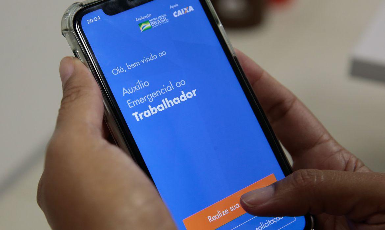 App do auxílio emergencial do governo