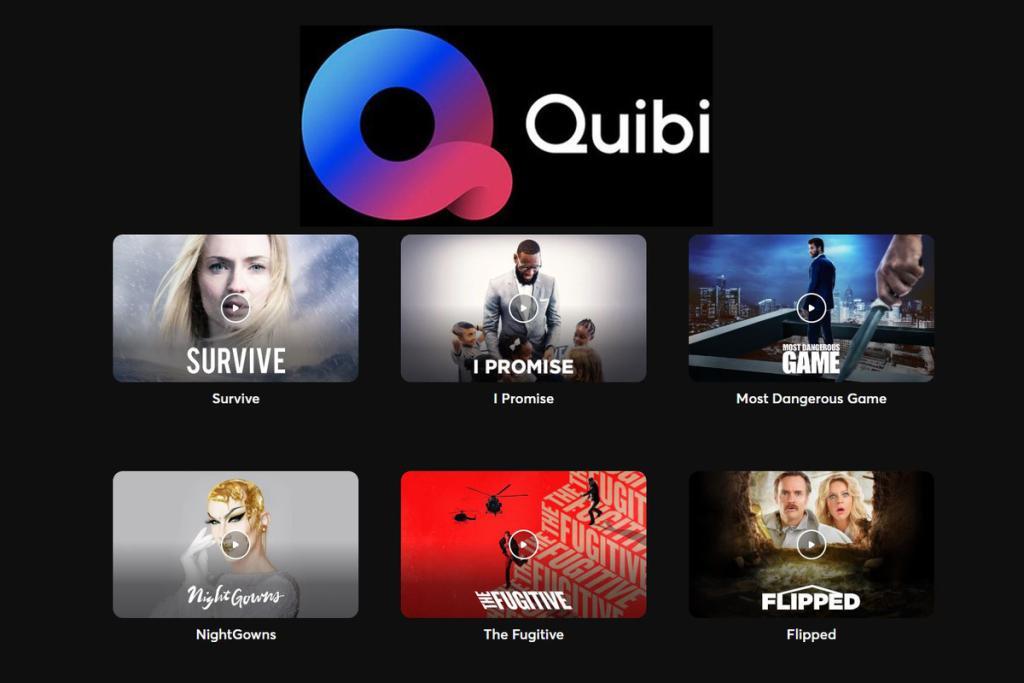 quibi streaming