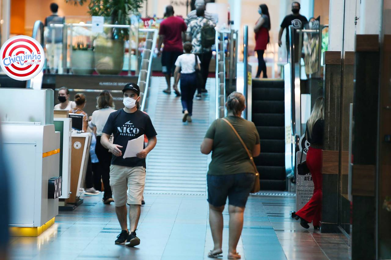 Movimentação de shopping center em Blumenau