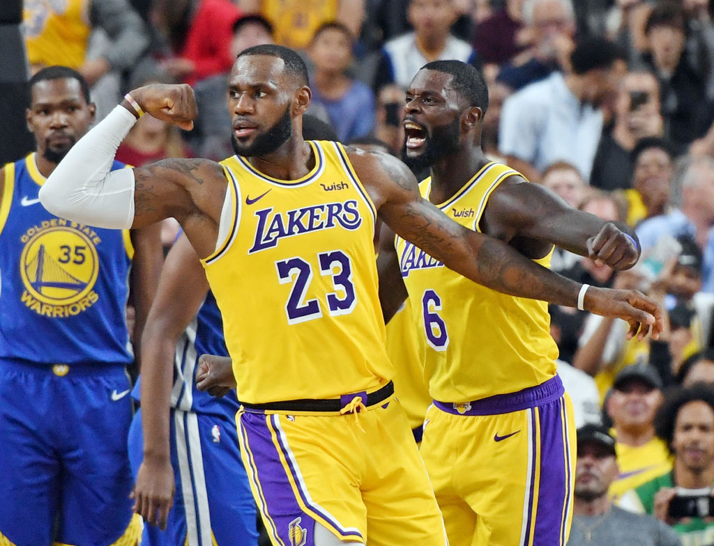 LeBron James NBA Lakers