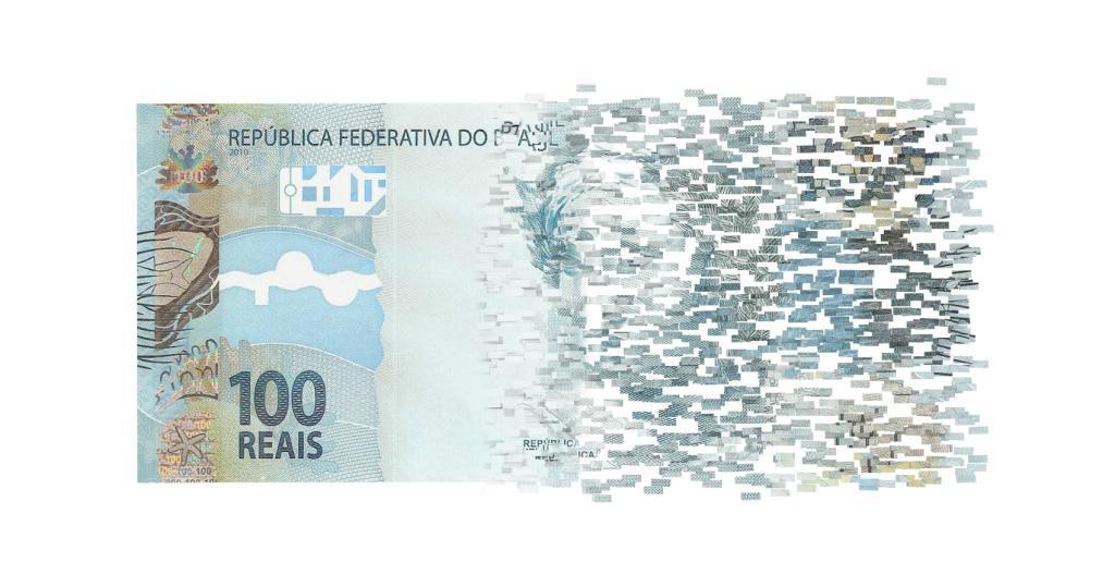 dinheiro real 100 reais nota brasil economia