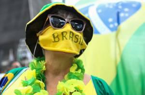 Manifestação de apoio a Bolsonaro - coronavírus (Foto: Alexandre Schneider/Getty Images)